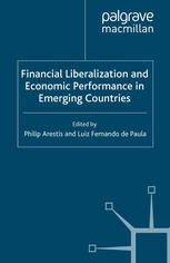 Εξώφυλλο βιβλίου Financial Liberalization and Economic Performance in Emerging Countries