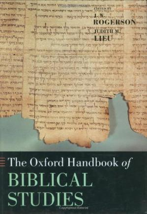 Book cover The Oxford Handbook of Biblical Studies (Oxford Handbooks in Religion and Theology)