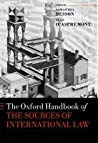 Book cover The Oxford Handbook of the Sources of International Law