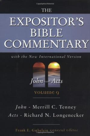 Portada del libro The Expositor's Bible Commentary: John and Acts