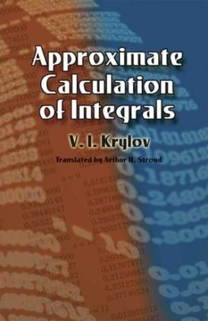 Book cover Approximate Calculation of Integrals (Dover Books on Mathematics)