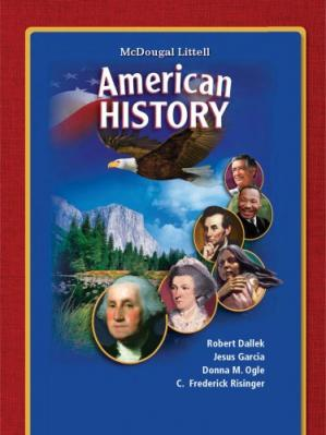Book cover American History