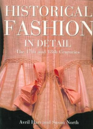 Обложка книги Historical Fashion in Detail: The 17th and 18th Centuries