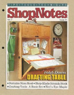 Okładka książki Woodworking Shopnotes 041 - Drafting Table