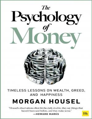 Book cover The Psychology of Money by Morgan Housel