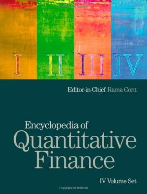 表紙 Encyclopedia of Quantitative Finance