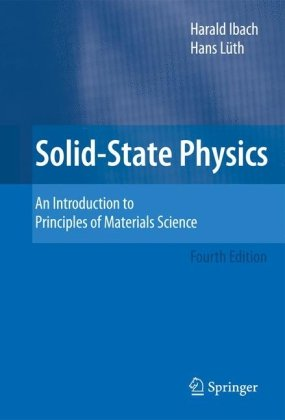 A capa do livro Solid-State Physics: An Introduction to Principles of Materials Science