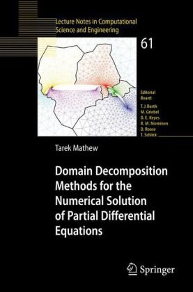 ปกหนังสือ Domain Decomposition Methods for the Numerical Solution of Partial Differential Equations (Lecture Notes in Computational Science and Engineering)