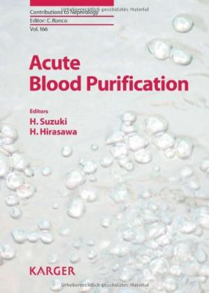 Copertina Acute Blood Purification (Contributions to Nephrology, Vol. 166)