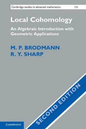 Copertina Local Cohomology: An Algebraic Introduction with Geometric Applications