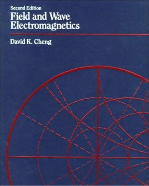 Book cover Field and Wave Electromagnetics