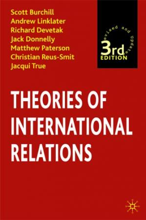 Couverture du livre Theories of international relations