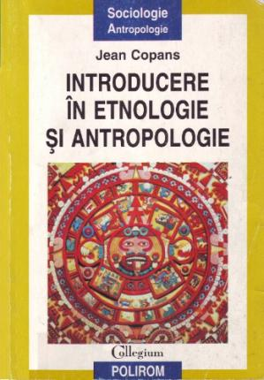 Book cover Introducere in etonologie si antropologie