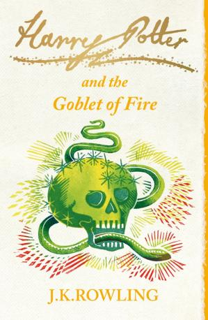 Book cover Harry Potter and the Goblet of Fire # (UK)