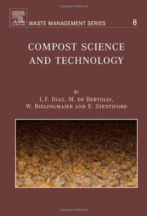 पुस्तक कवर Compost Science and Technology