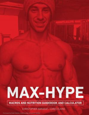 Book cover MaX-Hype-Macros-and-Nutrition-Guidebook.pdf