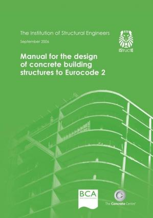 Book cover Manual for the Design of Concrete Building Structures to Eurocode 2