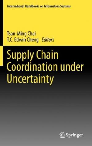 Couverture du livre Supply Chain Coordination under Uncertainty