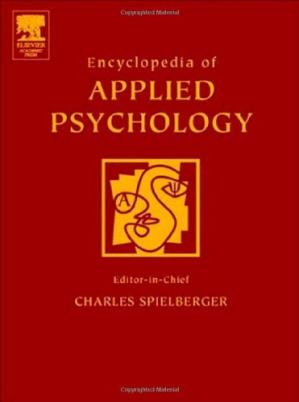 Portada del libro Encyclopedia of Applied Psychology, Three-Volume Set