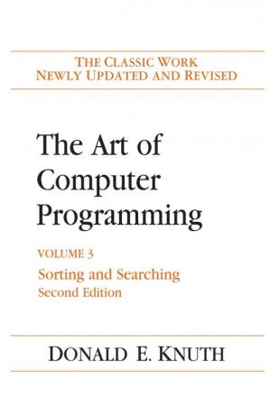 Book cover The Art of Computer Programming: Volume 3: Sorting and Searching