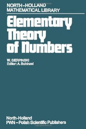 Book cover Elementary Theory of Numbers