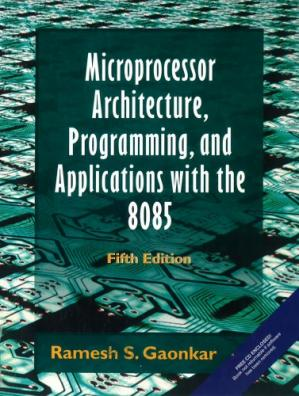 表紙 Microprocessor Architecture, Programming, and Applications with the 8085
