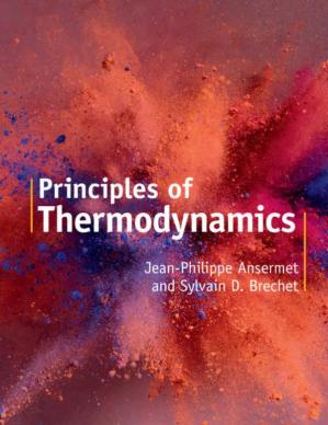 Book cover Principles of Thermodynamics