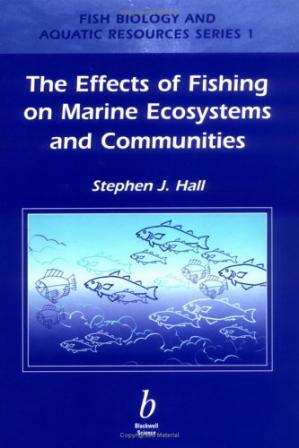 A capa do livro Effects of Fishing on Marine Ecosystems and   Communities (Fish and Aquatic Resources)
