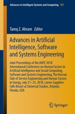 Book cover Advances in Artificial Intelligence, Software and Systems Engineering