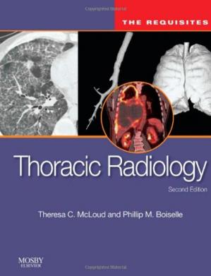 Copertina Thoracic Radiology: The Requisites, Second Edition
