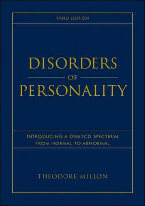 Book cover Disorders of Personality: Introducing a DSM/ICD Spectrum from Normal to Abnormal, Third Edition