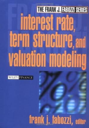 A capa do livro Interest rate, term structure, and valuation modeling