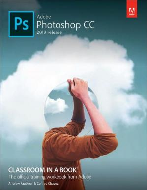 Portada del libro Adobe Photoshop CC Classroom in a Book (2019 Release)