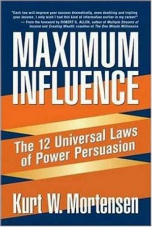 पुस्तक कवर Maximum Influence: The 12 Universal Laws of Power