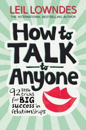 A capa do livro How to Talk to Anyone: 92 Little Tricks for Big Success in Relationships