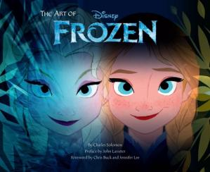 Book cover The Art of Frozen