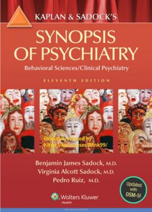 Book cover Kaplan and Sadock's Synopsis of Psychiatry