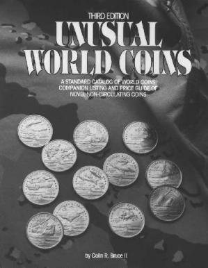 Book cover UNUSUAL WORLD COINS (3-е издание)
