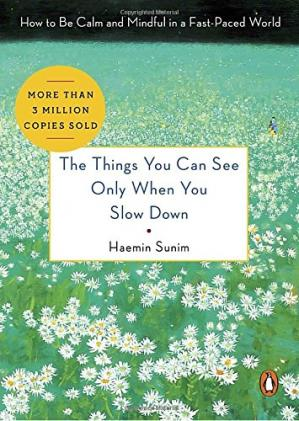 Book cover The Things You Can See Only When You Slow Down: How to Be Calm and Mindful in a Fast-Paced World