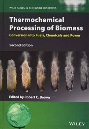 La couverture du livre Thermochemical Processing of Biomass: Conversion into Fuels, Chemicals and Power, 2nd Edition
