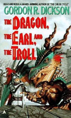 Korice knjige The Dragon, the Earl, and the Troll