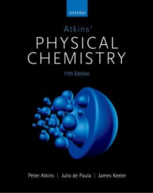 Book cover Atkins' Physical Chemistry