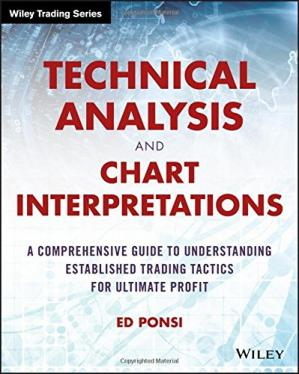 A capa do livro Technical Analysis and Chart Interpretations: A Comprehensive Guide to Understanding Established Trading Tactics for Ultimate Profit