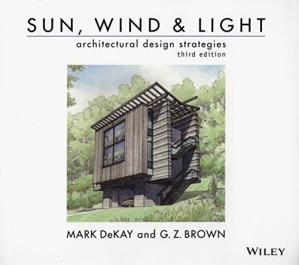 Book cover Sun, Wind, and Light: Architectural Design Strategies