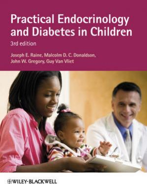 Обкладинка книги Practical Endocrinology and Diabetes in Children, Third Edition