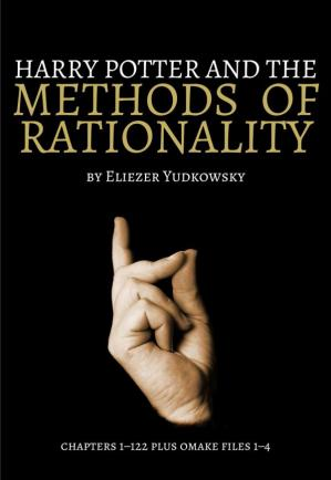 Book cover Harry Potter and the Methods of Rationality