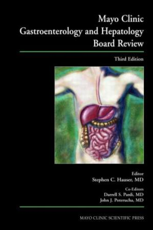 Book cover Mayo Clinic Gastroenterology and Hepatology Board Review