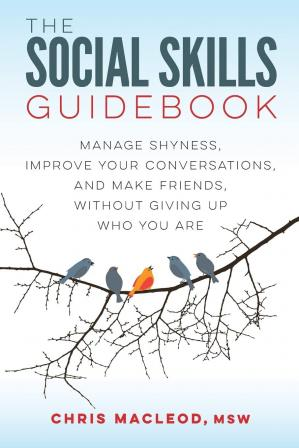 A capa do livro The Social Skills Guidebook