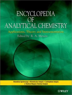 Okładka książki Encyclopedia of Analytical Chemistry: Applications, Theory, and Instrumentation