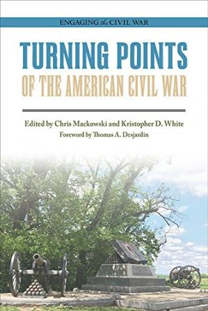 A capa do livro Turning Points of the American Civil War